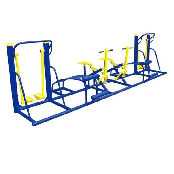 多人连体健身器材A YT-J67
