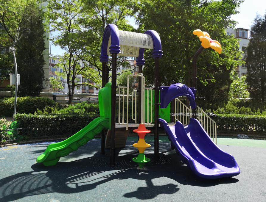 北京海淀区燕青公园儿童区